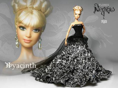 Hyacinth OOAK Barbie Doll de David Bocci