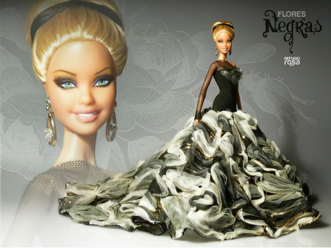 Iris OOAK Barbie Doll de David Bocci