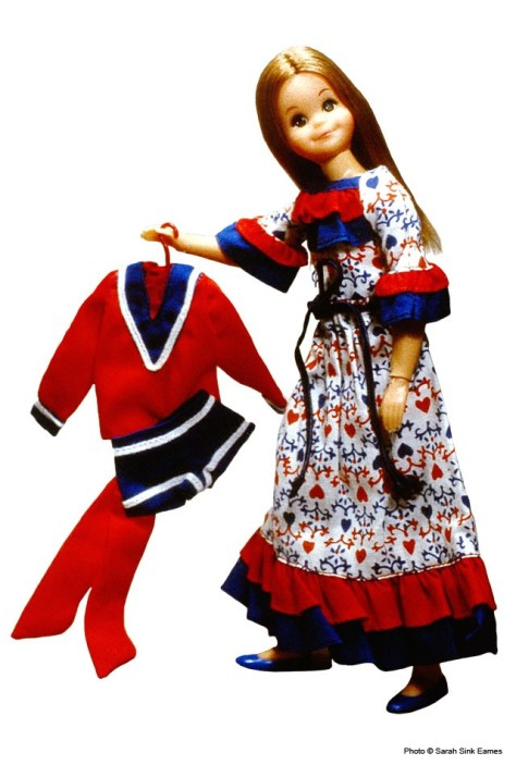 Red, White 'n Blues #3296 (Skipper doll)