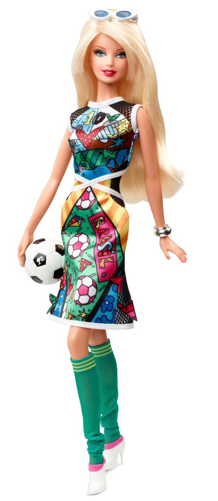 Romero Britto Barbie Doll