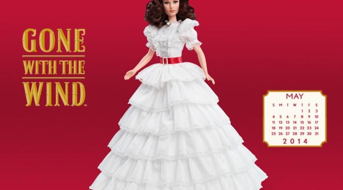 Desktop Calendar of Barbie Collector – May 2014