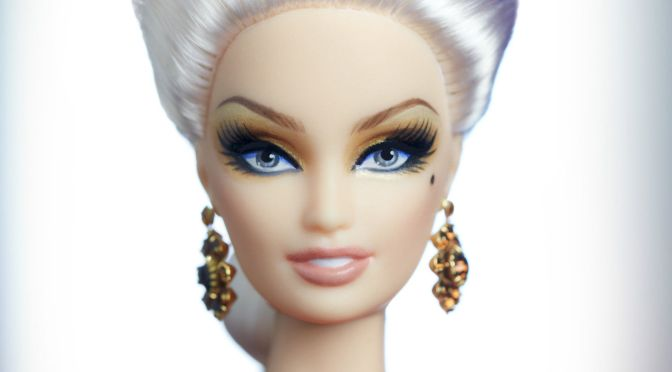 Scarlet Empress Barbie Doll