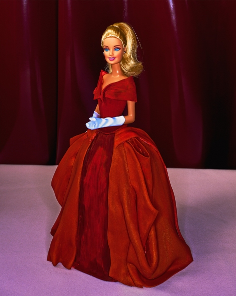 Charles James barbie doll cake