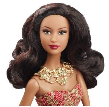 2014 Holiday Barbie Doll AA