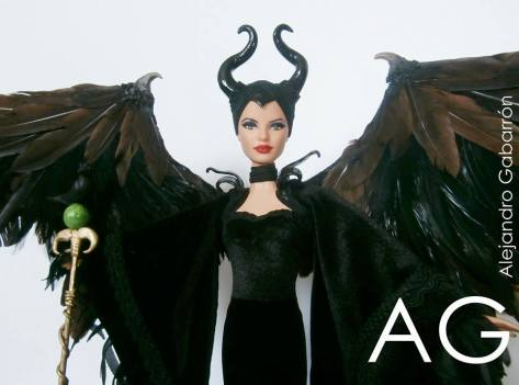 Maleficent Barbie Doll