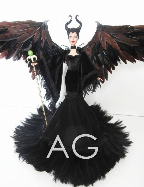 Maleficent Barbie Doll