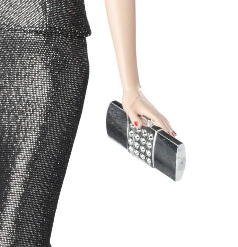 Red Carpet Barbie - Grey & Black Gown