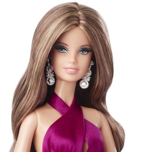 Red Carpet Barbie - Magenta Gown