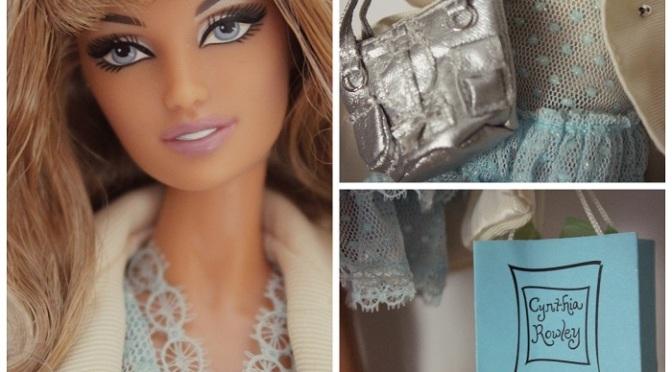 Cynthia Rowley Barbie Doll: imágenes reales