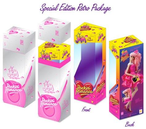 Rockin' Romance Jem doll box