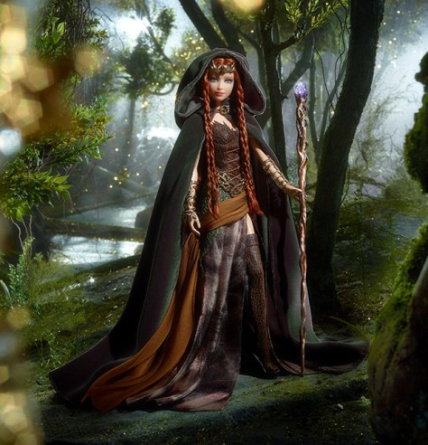 Faraway Forest Elf Barbie Doll