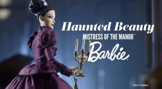 Vídeo: Haunted Beauty Mistress of the Manor Barbie Doll