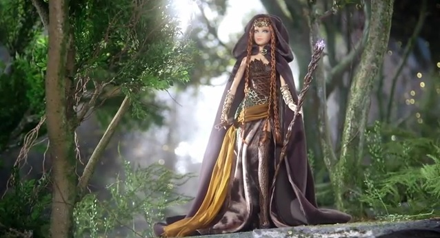 Vídeo: Bill Greening presenta a Faraway Forest Elf Barbie Doll