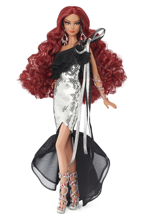 Stephen Burrows Nisha Barbie Doll