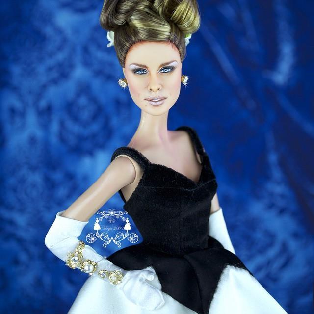 Sarah Jessica at MET Barbie by Oscar de la Renta OOAK