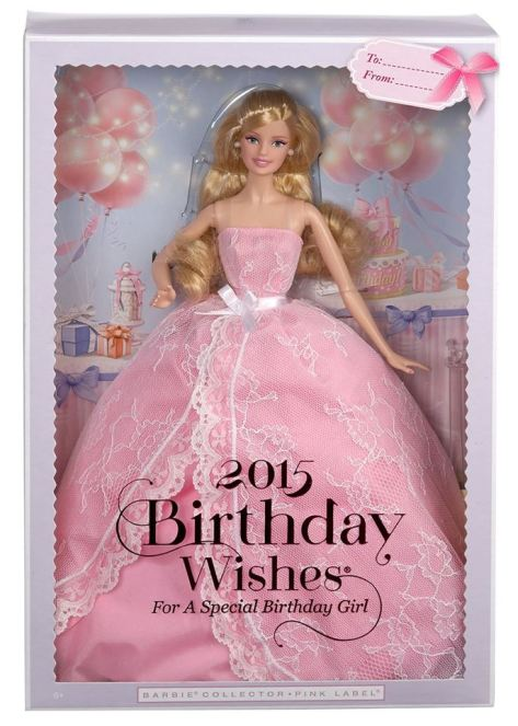 Birthday Wishes Barbie doll 2015