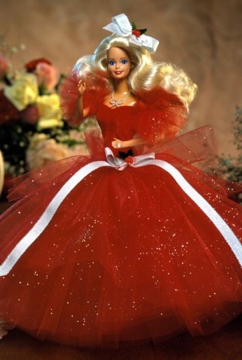 1988 Happy Holidays Barbie Doll