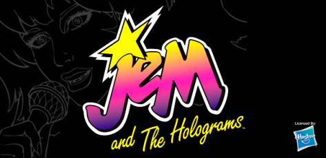 Jem and The Holograms logo