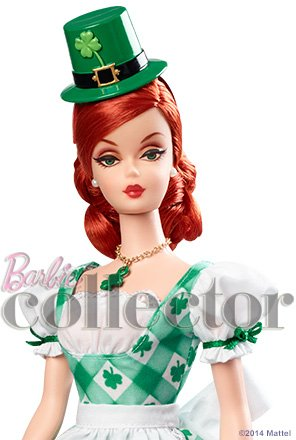 Shamrock Celebration Barbie