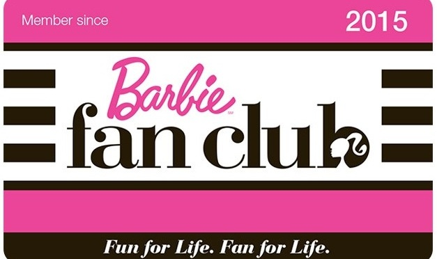 Información sobre el Barbie Fan Club de 2015