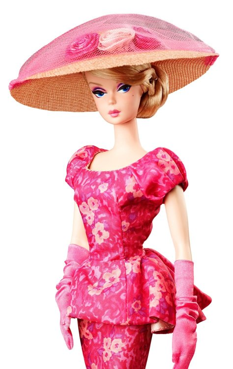 Fashionably Floral Barbie Doll