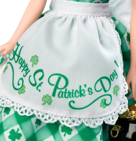 Shamrock Celebration Barbie Doll