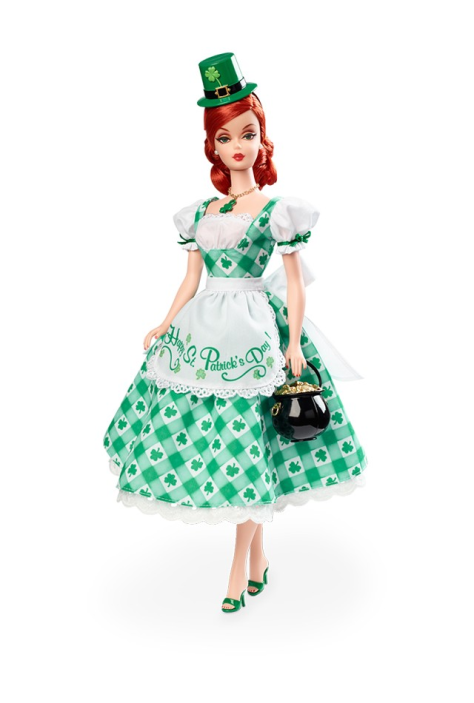 Shamrock Celebration Barbie Doll