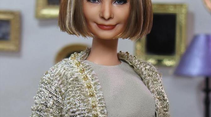 Anna Wintour OOAK Barbie Doll, de AFD Group