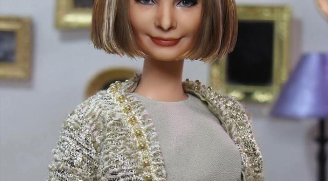 Anna Wintour OOAK Barbie Doll, de AFD Group