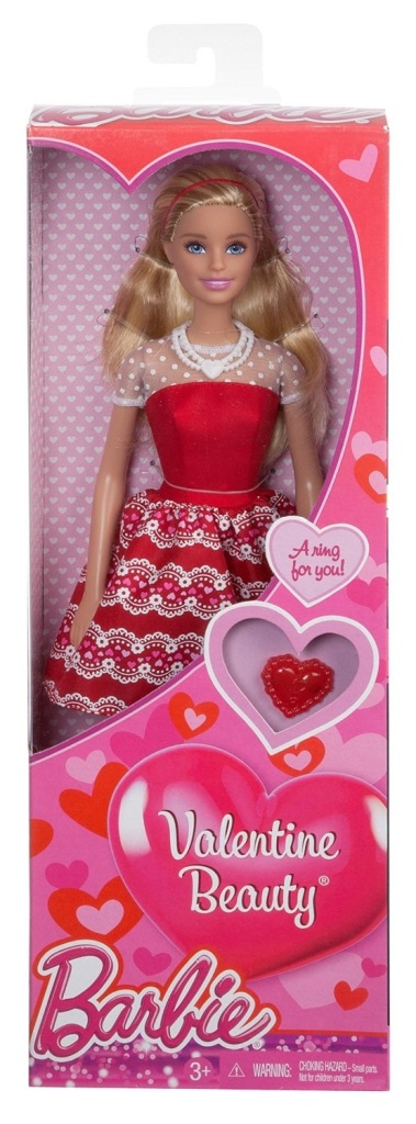 Valentine Beauty Barbie doll
