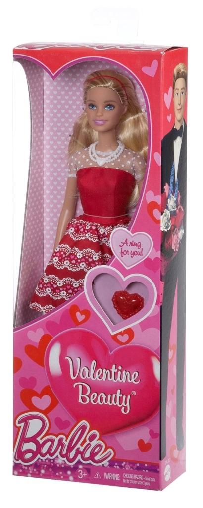 Valentine Beauty Barbie doll