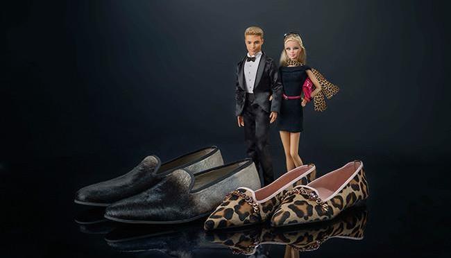 Barbie y Ken inspiran a Pretty Loafers por San Valentín
