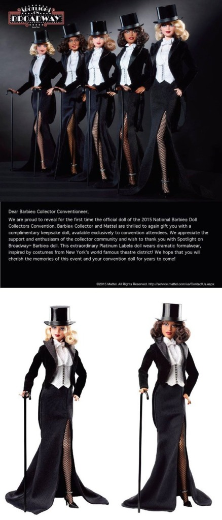 Spotlights Broadway Barbie Dolls