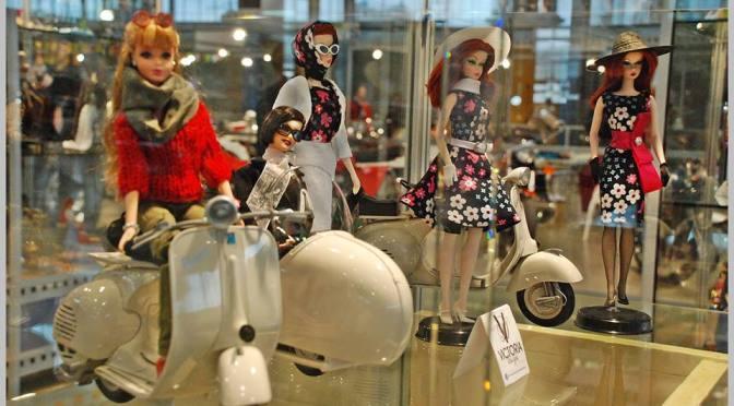 Exposición de Barbie en COLECCIONA, Feria de Coleccionismo de la Comunidad Valenciana