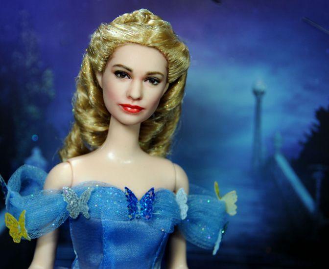 OOAK Cenicienta 2015 Lily James doll de Noel Cruz, ¡parece viva!