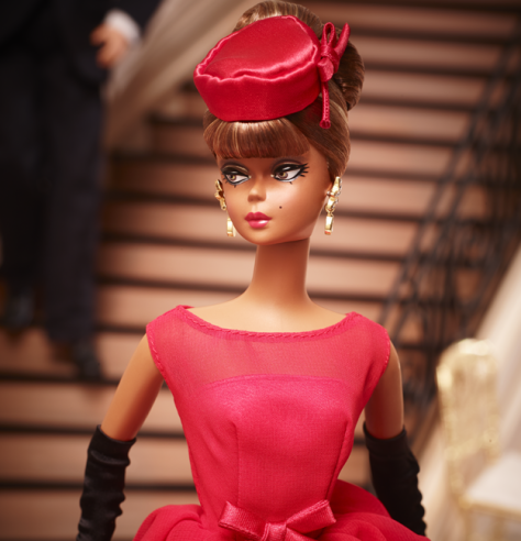 Little Red Dress Barbie Doll