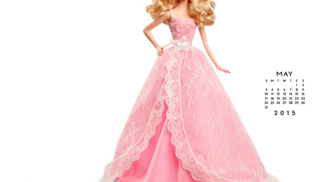 Calendario oficial de The Barbie Collection: Mayo 2015