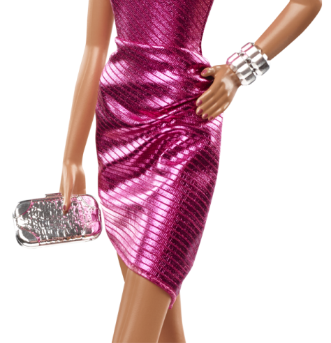 City Shine Barbie Doll - Pink
