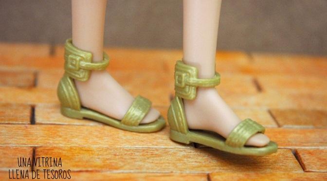 La invasión de los zapatos planos de Barbie, ¡me encantan!