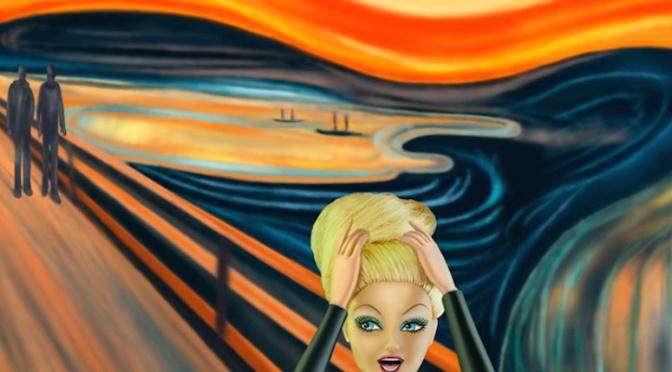 Barbie se convierte en protagonista de las pinturas más emblemáticas