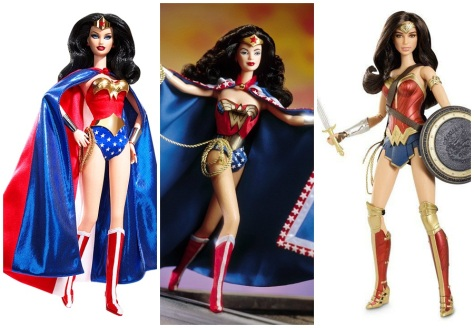 wonder woman Collage