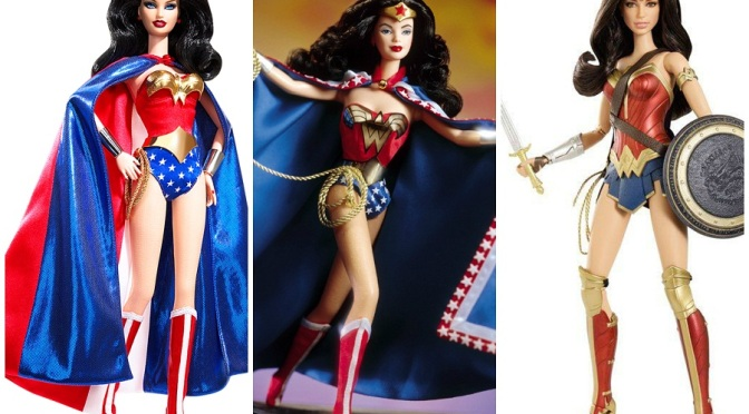 La evolución de Wonder Woman en The Barbie Collection