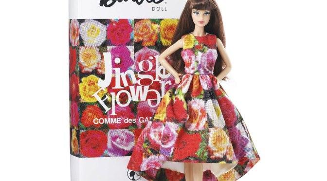 Jingle Flowers Barbie Doll, de Rei Kawakubo para Comme des Garçons