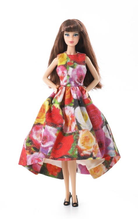 Jingle Flowers Barbie Doll