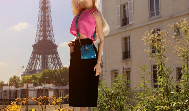 Los viajes de Barbie a París
