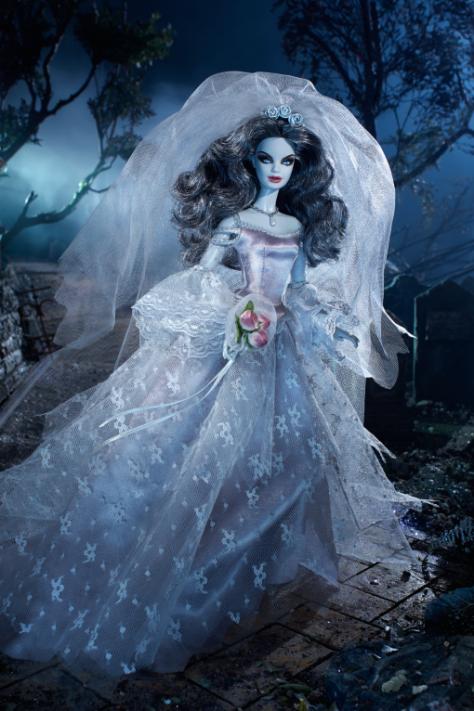 Haunted Beauty Zombie Bride Barbie Doll
