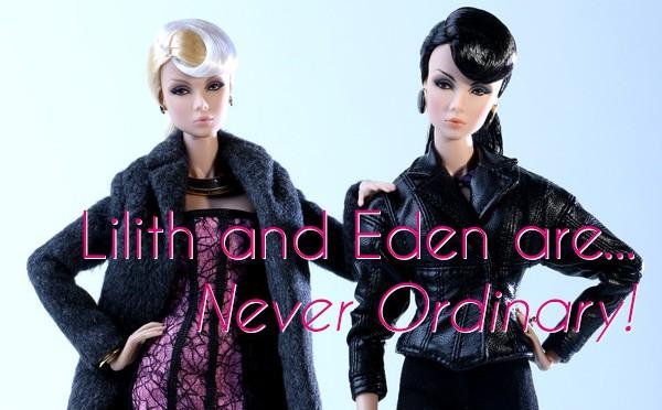 The Never Ordinary Lilith and Eden dolls, ¡las gemelas han vuelto!