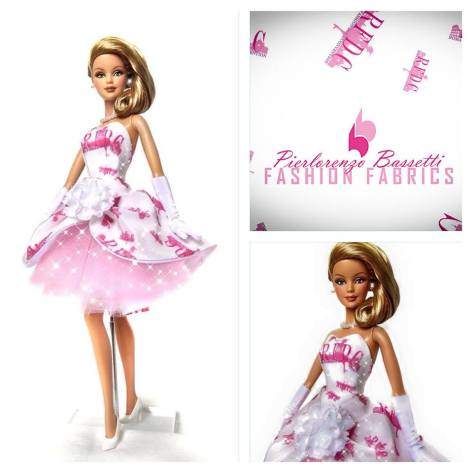 Roman Pink Holiday Barbie Doll