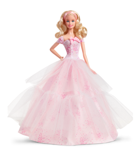 2016 Birthday Wishes Barbie Doll – Caucasian