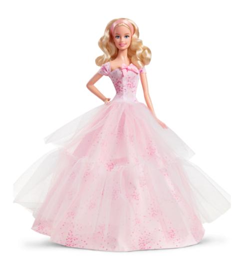 2016 Birthday Wishes Barbie Doll – Caucasian